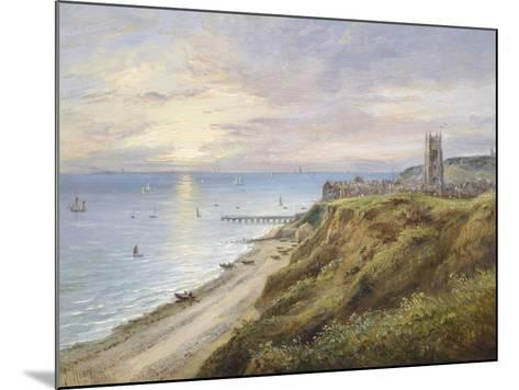 View of Cromer, Norfolk, from the West-John Moore-Mounted Giclee Print