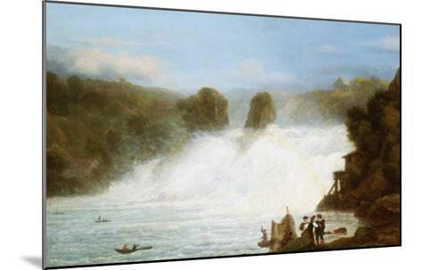 The Falls at Schaffhausen-Josef Stumpf-Mounted Giclee Print