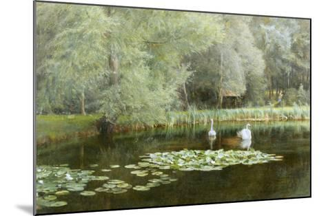 The Lily Pond-Edward R^ Taylor-Mounted Giclee Print