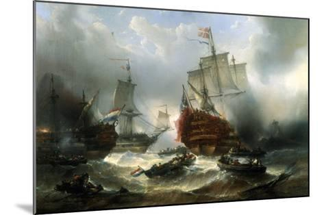 Naval Engagement-Francois Musin-Mounted Giclee Print
