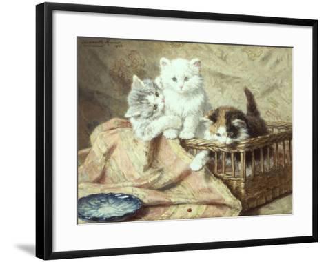 Playmates-Henriette Ronner-Knip-Framed Art Print