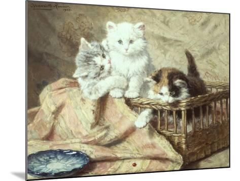 Playmates-Henriette Ronner-Knip-Mounted Giclee Print