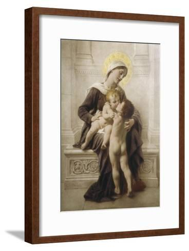 The Madonna and Child with St. John-Leon Perrault-Framed Art Print