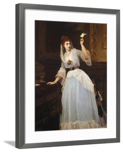 Loving Trust-William Oliver-Framed Art Print