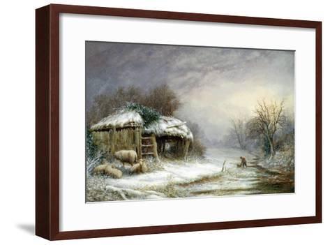 Winter Landscape-Joseph Such-Framed Art Print