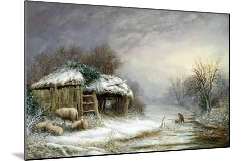 Winter Landscape-Joseph Such-Mounted Giclee Print