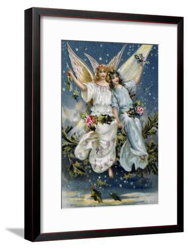 Heavenly Angels--Framed Art Print