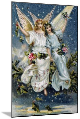 Heavenly Angels--Mounted Giclee Print