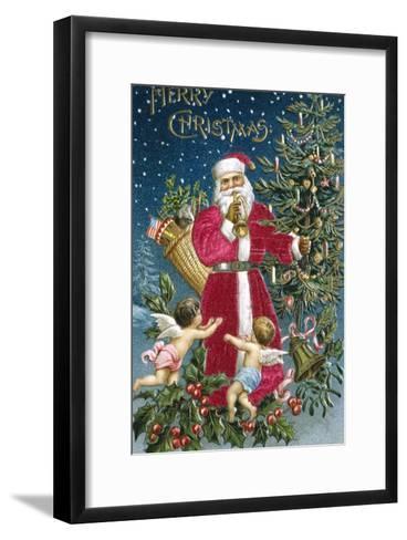 Merry Christmas--Framed Art Print