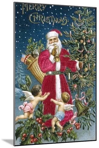 Merry Christmas--Mounted Giclee Print