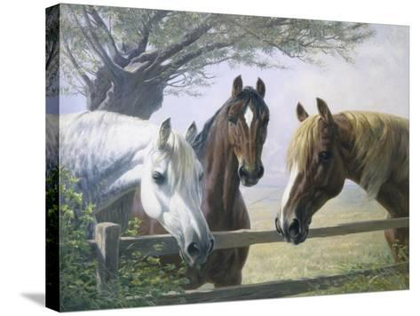 Old Friends-Simon Ludvig Ditlev Simonsen-Stretched Canvas Print