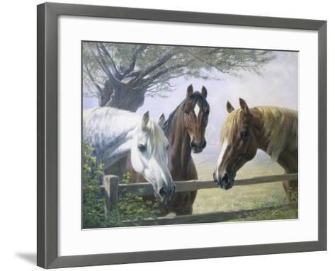 Old Friends-Simon Ludvig Ditlev Simonsen-Framed Art Print