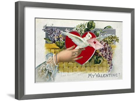 My Valentine--Framed Art Print