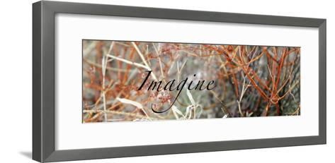 Imagine: Colorful Brush-Nicole Katano-Framed Art Print