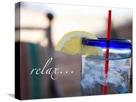 Relax: Lemonade-Nicole Katano-Stretched Canvas Print