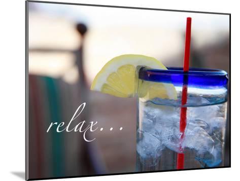 Relax: Lemonade-Nicole Katano-Mounted Photo