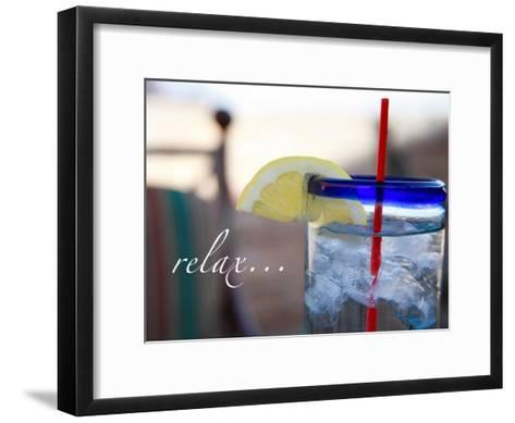 Relax: Lemonade-Nicole Katano-Framed Art Print