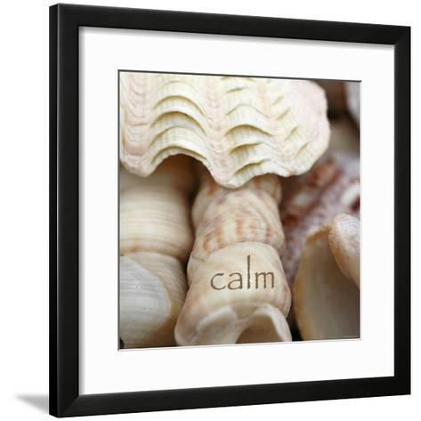Calm-Nicole Katano-Framed Art Print