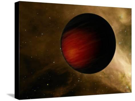 Hot Jupiter Called HD 149026B-Stocktrek Images-Stretched Canvas Print