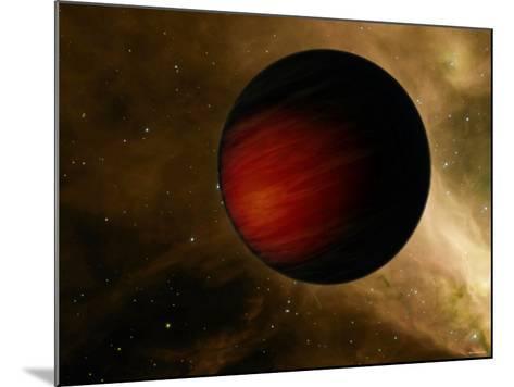 Hot Jupiter Called HD 149026B-Stocktrek Images-Mounted Photographic Print