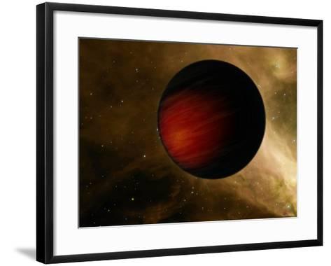 Hot Jupiter Called HD 149026B-Stocktrek Images-Framed Art Print
