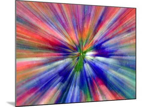 Zoom Abstract of Pansy Flowers-Charles R^ Needle-Mounted Photographic Print