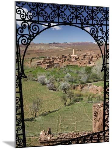 Telouet Village, Ruins of the Glaoui Kasbah, Tizi-N-Tichka Pass Road-Walter Bibikow-Mounted Photographic Print