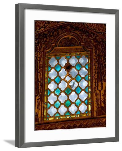 Mevlana Museum Wall and Ceiling Art, Konya, Turkey-Darrell Gulin-Framed Art Print