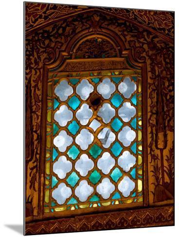 Mevlana Museum Wall and Ceiling Art, Konya, Turkey-Darrell Gulin-Mounted Photographic Print