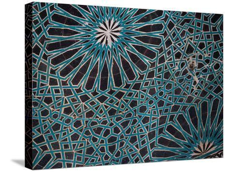 Ceiling Tile, Mevlana Museum, Konya, Turkey-Darrell Gulin-Stretched Canvas Print