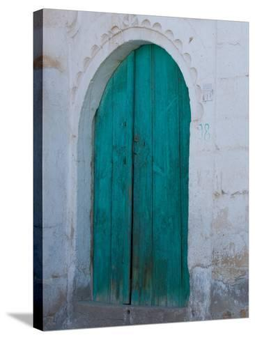 Doorway in Small Village, Cappadoccia, Turkey-Darrell Gulin-Stretched Canvas Print
