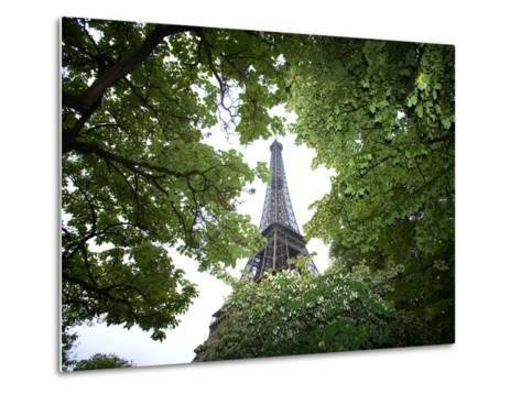 Detail of Eiffel Tower, Paris, France-Jim Zuckerman-Metal Print