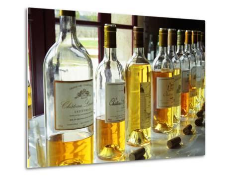 Sauternes Wines at Union Des Grand Crus Tasting, Domaine De Chevalier in Graves, Bordeaux, France-Per Karlsson-Metal Print