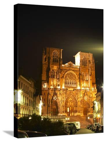 Saint Maurice Cathedral, Vienne, Isere, France-Per Karlsson-Stretched Canvas Print