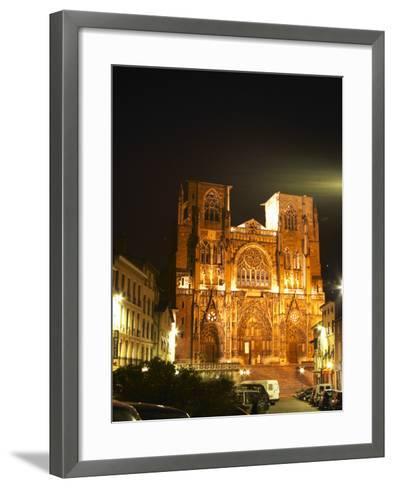 Saint Maurice Cathedral, Vienne, Isere, France-Per Karlsson-Framed Art Print