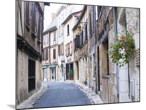 Old Town with Stone and Wooden Beam Houses, Bergerac, Dordogne, France-Per Karlsson-Mounted Photographic Print