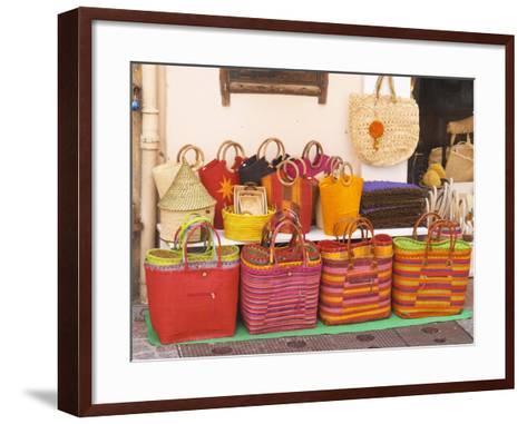 Market Stalls, Sanary, Var, Cote d'Azur, France-Per Karlsson-Framed Art Print