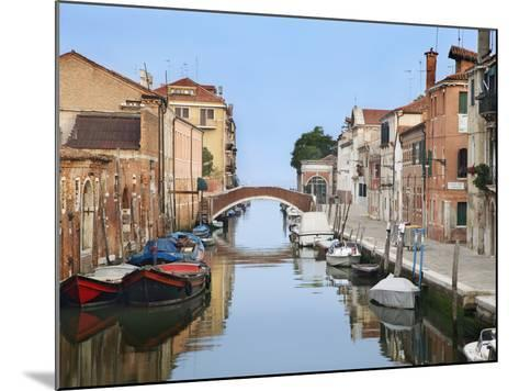 View Along City Canals, Venice, Italy-Dennis Flaherty-Mounted Photographic Print