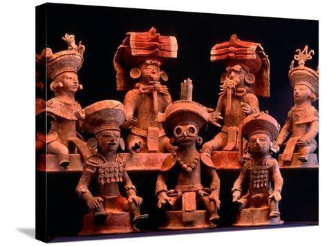 Offering Vessels, Copan, Maya, Mexico-Kenneth Garrett-Stretched Canvas Print