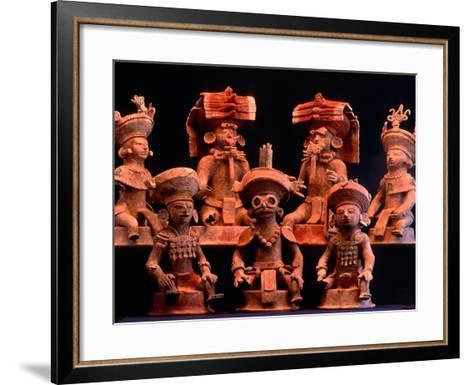 Offering Vessels, Copan, Maya, Mexico-Kenneth Garrett-Framed Art Print