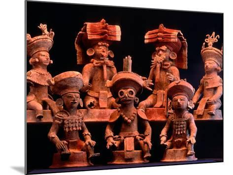 Offering Vessels, Copan, Maya, Mexico-Kenneth Garrett-Mounted Photographic Print