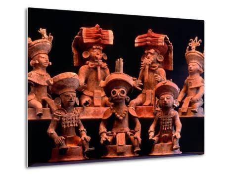 Offering Vessels, Copan, Maya, Mexico-Kenneth Garrett-Metal Print