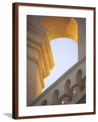 Mission San Xavier Del Bac, Tucson, Arizona, USA-John & Lisa Merrill-Framed Art Print