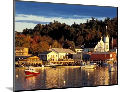 Our Lady Queen of Peace Catholic Church, Boothbay Harbor, Maine, USA-Jerry & Marcy Monkman-Mounted Photographic Print