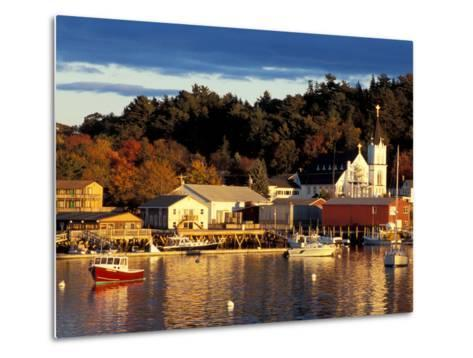 Our Lady Queen of Peace Catholic Church, Boothbay Harbor, Maine, USA-Jerry & Marcy Monkman-Metal Print