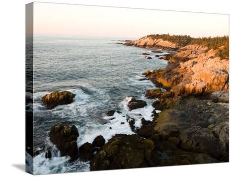 Rocky Coast of Isle Au Haut, Acadia National Park, Maine, USA-Jerry & Marcy Monkman-Stretched Canvas Print