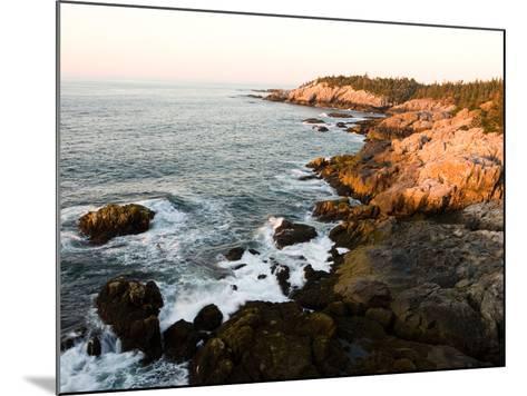 Rocky Coast of Isle Au Haut, Acadia National Park, Maine, USA-Jerry & Marcy Monkman-Mounted Photographic Print