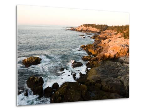 Rocky Coast of Isle Au Haut, Acadia National Park, Maine, USA-Jerry & Marcy Monkman-Metal Print