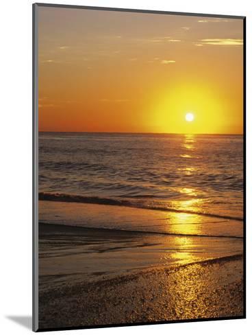 Sunrise Over Myrtle Beach, South Carolina, USA-Dennis Flaherty-Mounted Photographic Print