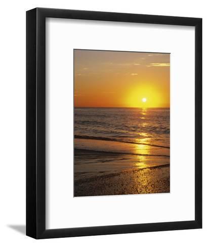 Sunrise Over Myrtle Beach, South Carolina, USA-Dennis Flaherty-Framed Art Print